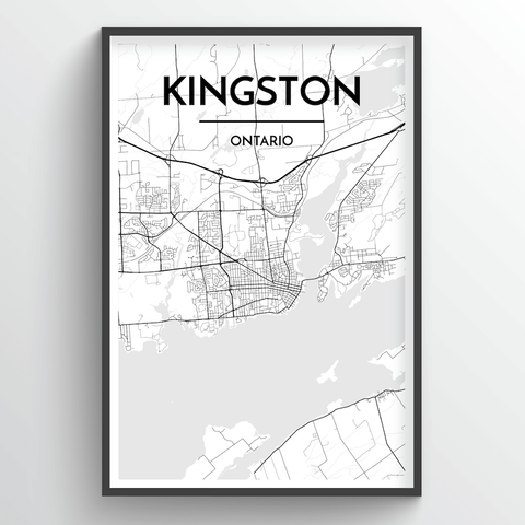 Kingston City Map
