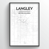 Langley City Map