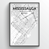 Missisauga City Map