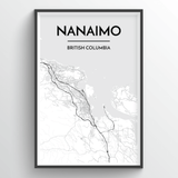 Nanaimo City Map