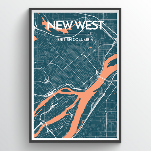 New Westminster City Map