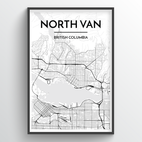 North Vancouver City Map