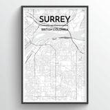 Surrey City Map