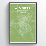 Winnipeg City Map