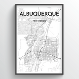 Albuquerque City Map