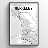 Berkeley Map Art
