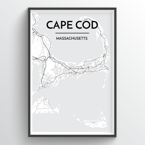 Cape Cod City Map
