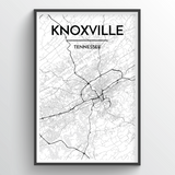 Knoxville City Map
