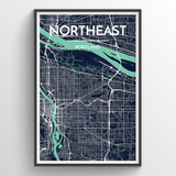 Portland - Oregon Neighborhood Maps