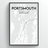 Portsmouth City Map