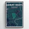 "Ashbury Heights / 13x19"" / Color"