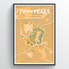 "Twin Peaks / 13x19"" / Color"