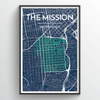 "The Mission / 13x19"" / Color"