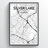 Silver Lake City Map
