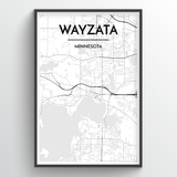 Wyzata City Map