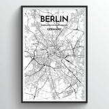 Berlin Map Art