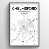 Chelmsford Map Art