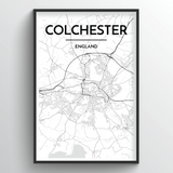 Colchester Map Art