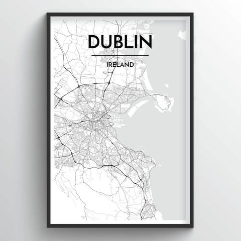 Dublin Map Art