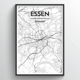 Essen Map Art