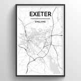 Exeter Map Art
