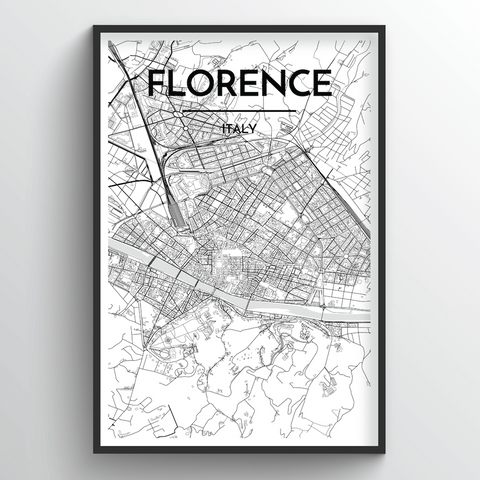 Florence Map Art
