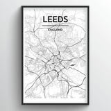 Leeds Map Art
