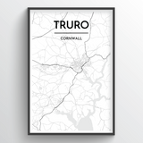 Truro City Map