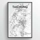 Taichung Map Art