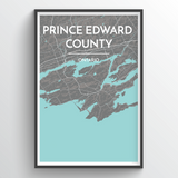 Prince Edward County Map