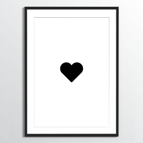 Wholesale art print: Heart Art Print