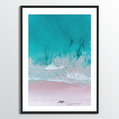 Wholesale art print: Pink Beach Art Print