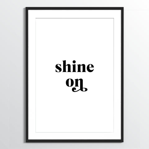 Wholesale art print: Shine On Art Print
