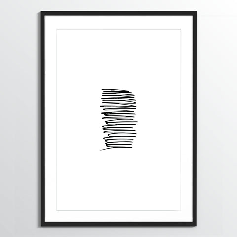 Wholesale art print: Sketch No 1 Art Print