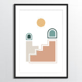Wholesale art print: Abstract No 3 Art Print