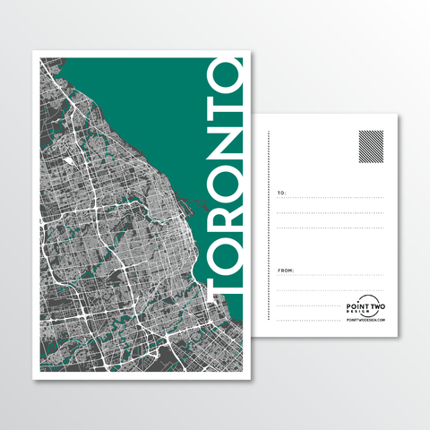 Affordable wholesale postcards of Toronto - Illustrated Province Art