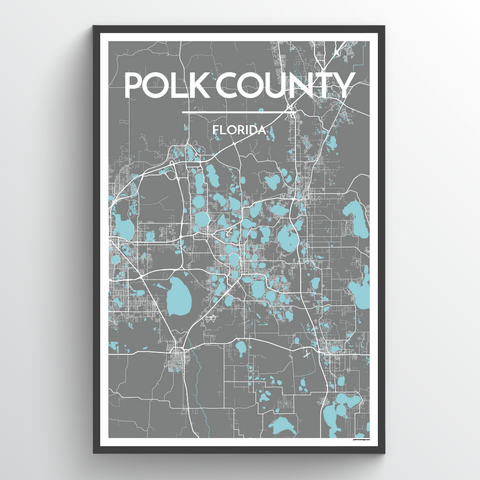 Polk County Map