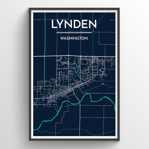 Lynden Map Art