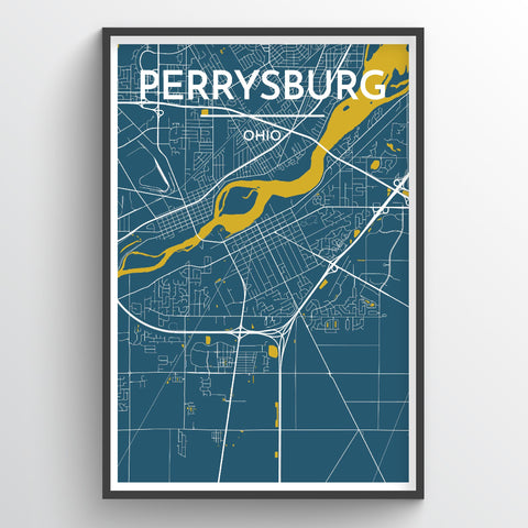 Perrysburg City Map
