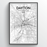 Dayton City Map