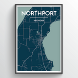 Northport City Map
