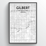 Gilbert City Map