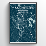 Manchester, NH City Map