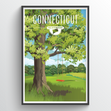 Connecticut State Print