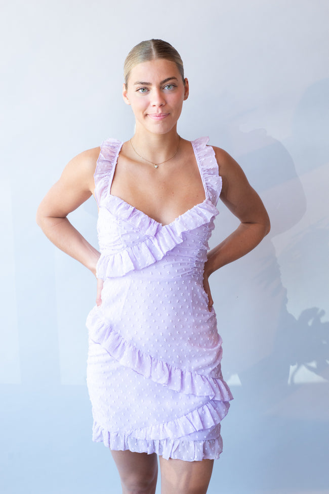 Finley's Frayed Bottom Printed Sweater