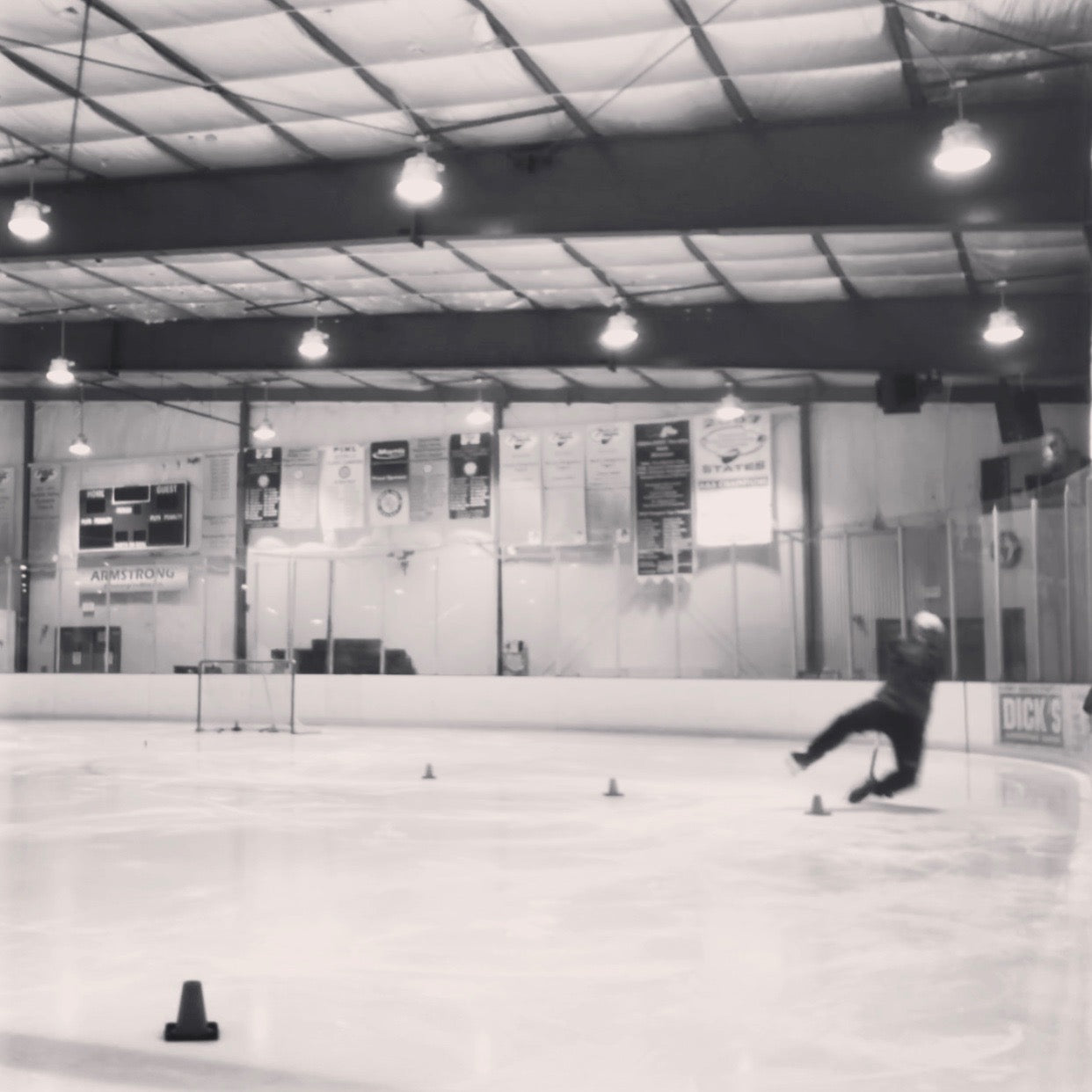 The Ice Welcomes Me Every Time I Fall...