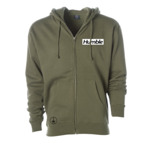 HEAVYWEIGHT ZIP-UP HOODIE