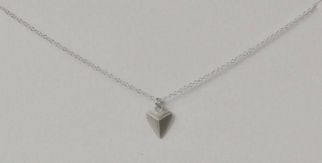 Geometric Necklace | You are Mighty Necklace | We are Giants | Silver Necklace | Charm Necklace