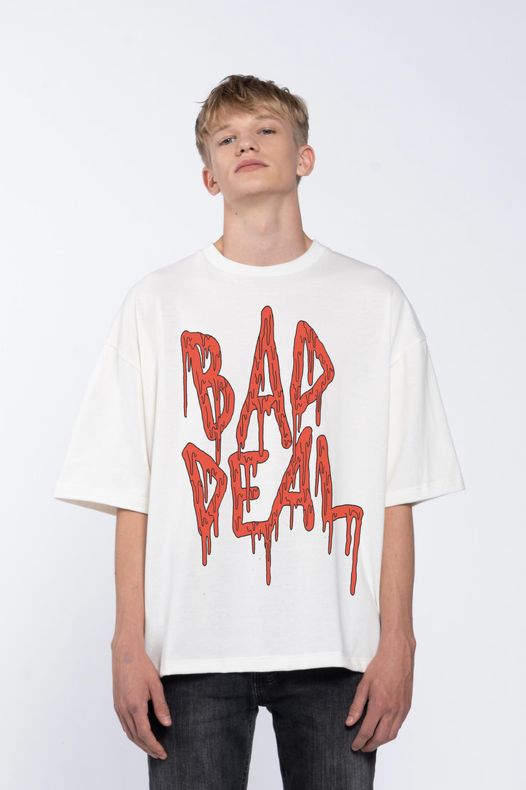 BLOOD KETCHUP WHITE - BOX TEE