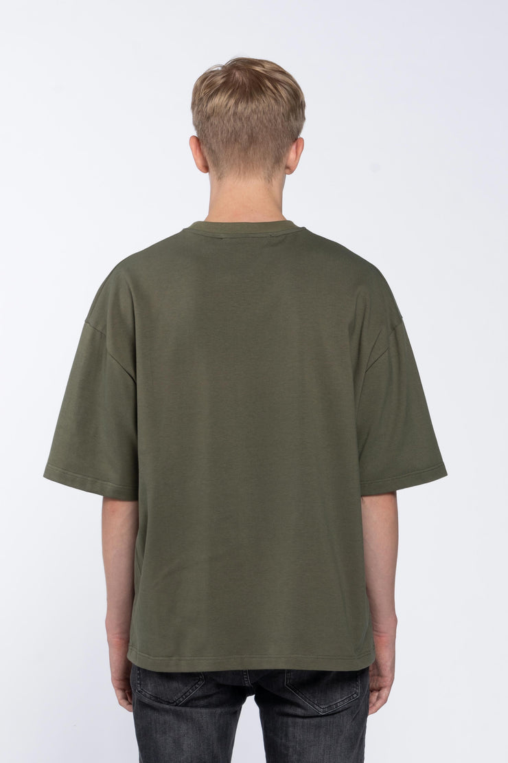 FLASHBACK GREEN- BOX TEE